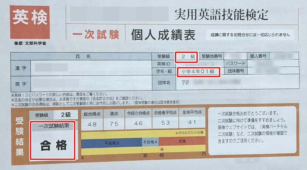 英検2級に合格_小学生の英検対策3