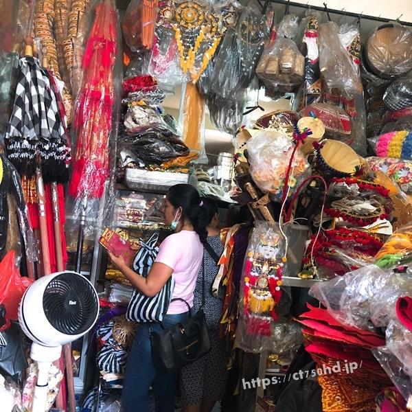 バリ島人気の市場スカワティ_雑貨_カゴバッグ_アタ製品26